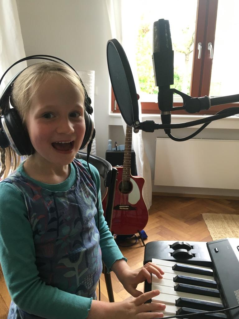 Kinderlieder - EP - Produktion